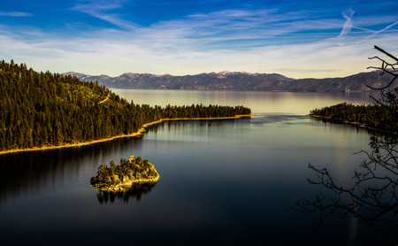fannette: Emerald Bay in the winter, Lake Tahoe