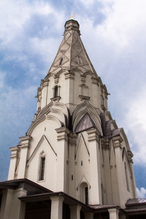 ascension: Kolomenskoye. Church of the Ascension, Moscow, Russia Stock Photo