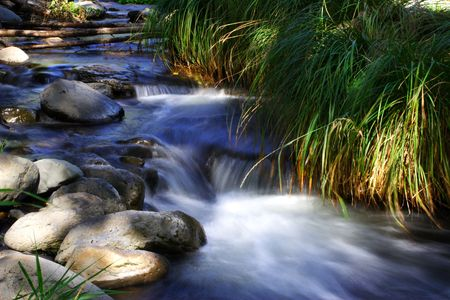 sedona: Beautiful creek in sedona, arizona Stock Photo