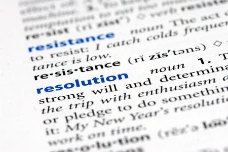 resolution: resolution