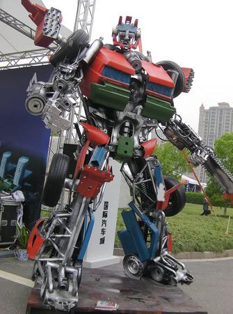 Transformers come
