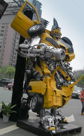 The autobots in battle