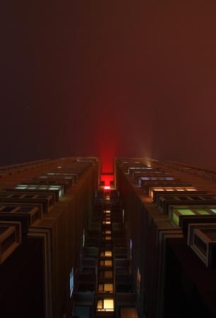 beijing: Beijing district Night Editorial