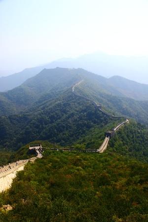 great wall: Beijing Badaling Great Wall Stock Photo
