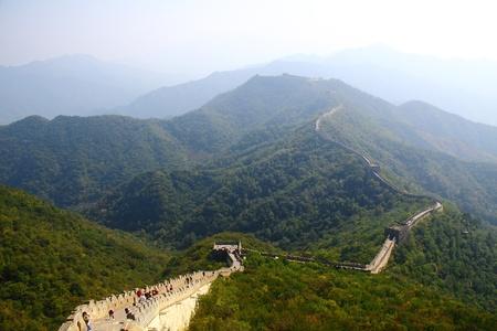 the great wall: Beijing Badaling Great Wall Editorial