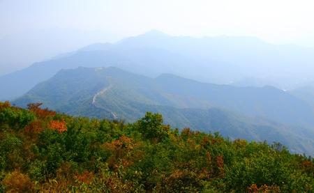 beijing: Beijing Badaling Great Wall Stock Photo