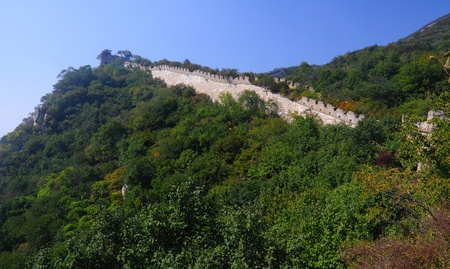 great: Beijing Badaling Great Wall Stock Photo