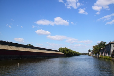 turret: Palace turret under blue sky