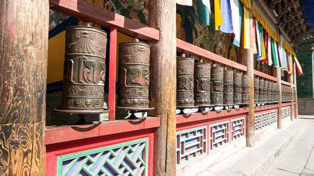 China Qinghai Xining Tar Temple scenery.