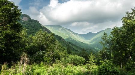 China Hebei Heilongshan Meadow Landscape.