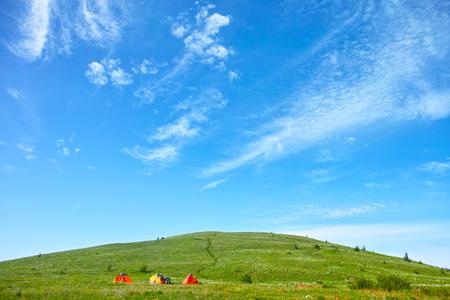 China Hebei Heilongshan Meadow Trekking Landscape