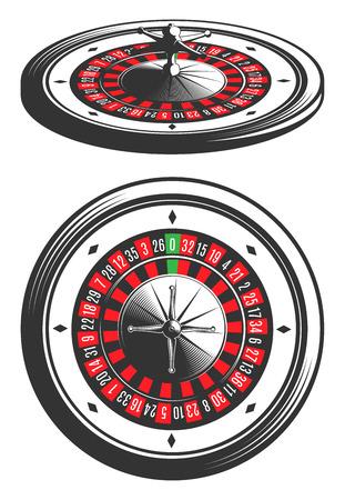 Casino Roulette. Иллюстрация