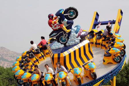 rotating: Rotating motorcycle game.