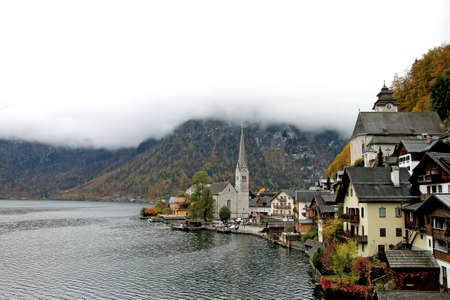 autumn mountain landscape in austria Stockfoto