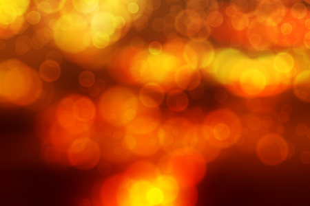 blurry abstract background with bokeh effect, gold sunset and sunrise
