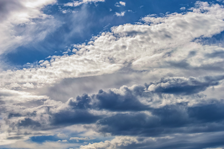background of the sky with dramatic clouds