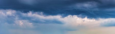 dark dramatic clouds. background panorama of a stormy sky Stok Fotoğraf
