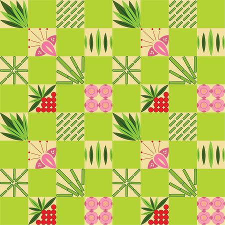 Bamboo pattern Vector