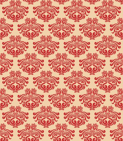 A Classic decorative Pattern background  Illustration