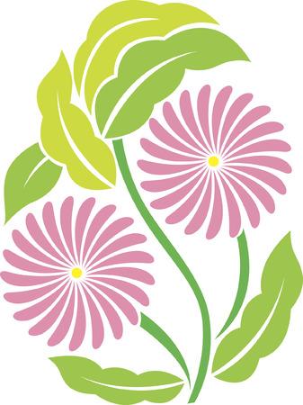 Eine dekorative Blumen in einem Ei-Form.