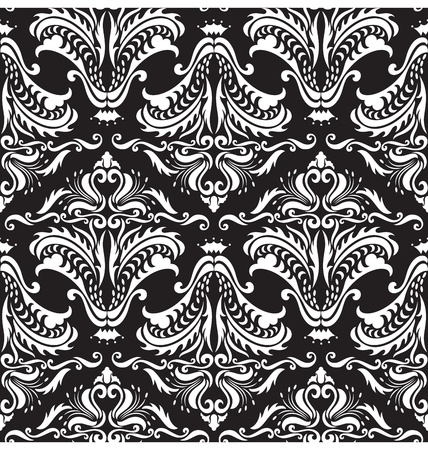 A seamless pattern design illustrated with gothic style, great for backgound design. Vector