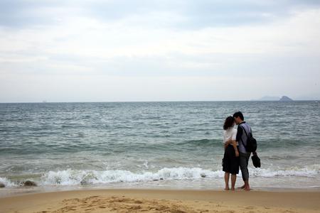 éxtasis: joven en la playa