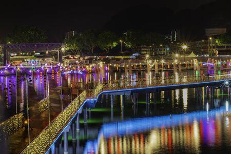 The light bridge in wonderland