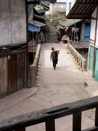 Ancient streets Tianchi.
