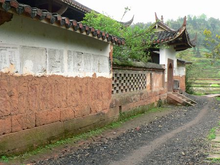 xuyong: The mountains of the ancient temples.