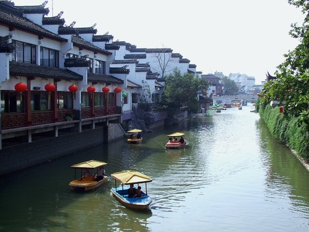 Qin Huai River in Nanjing