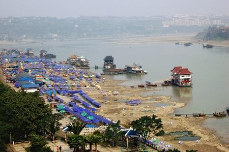 yangtze river: Yangtze River Stock Photo