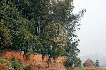 Sichuan countryside views Stock Photo - 10413604