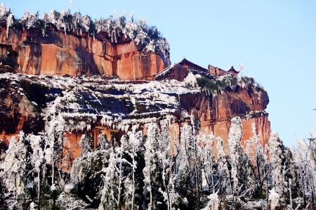 provincial tourist area: Early spring snow