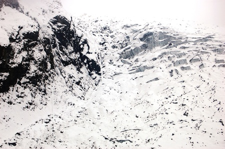 HaiLuoGou glacier Stock Photo - 17598767