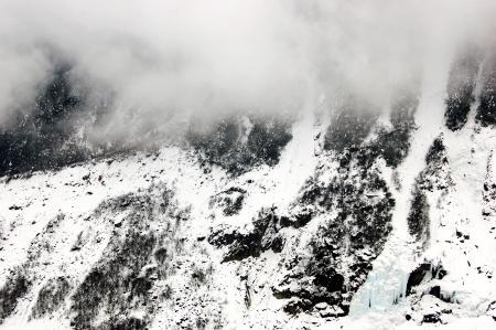 HaiLuoGou glacier Stock Photo - 17598779