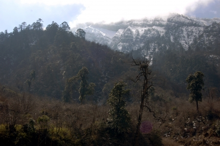 Erlang mountain scenery photo