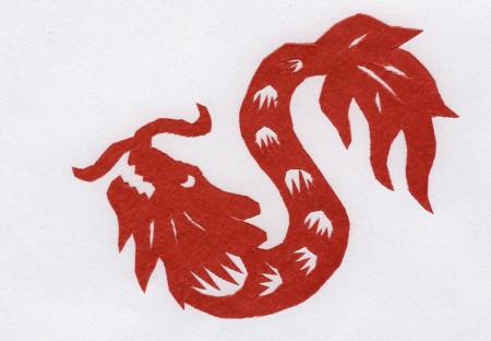 Chinesischen Scherenschnitt
