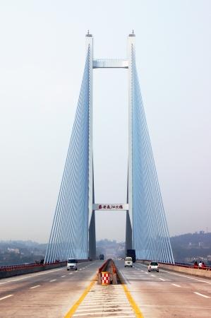 yangtze river: Yangtze river bridge, China