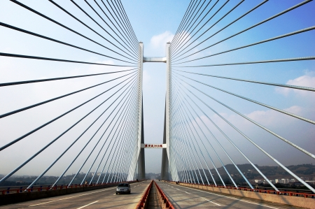 yangtze: Yangtze river bridge, China