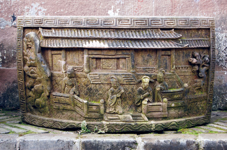 stone carving: The ancient Chinese stone carving