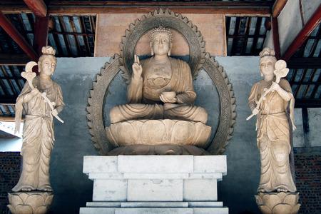 xuyong: The Buddha statues Stock Photo