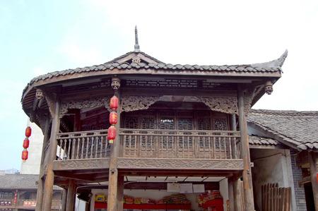ethnic customs: Chengdu Ancient Town - Luo Dai