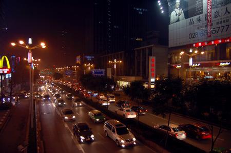 Chengdu Nacht