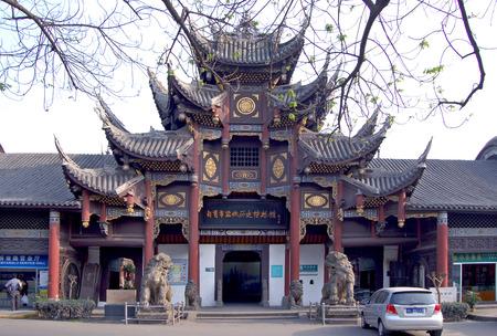 qin: Western qin in zigong city hall Editorial