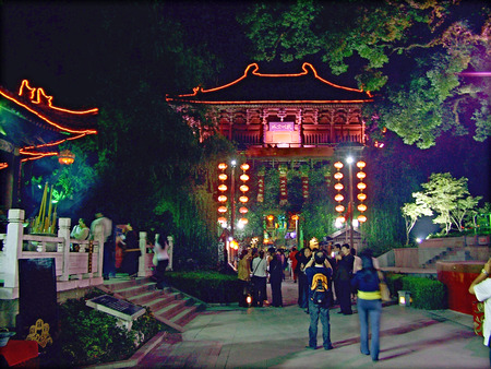 song dynasty: Hangzhou Song Dynasty Night Editorial