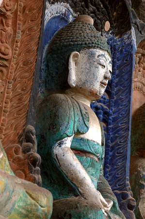 xuyong: Cliff stone carvings in ancient China