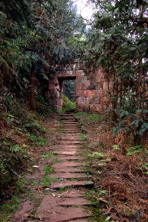 Ancient village gate