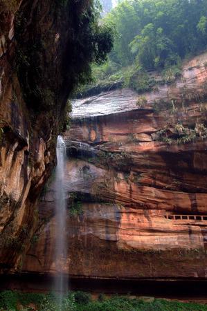 xuyong: Danxia landform scenery