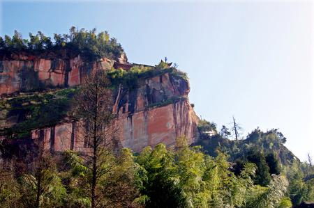 Sichuan danehill scenery