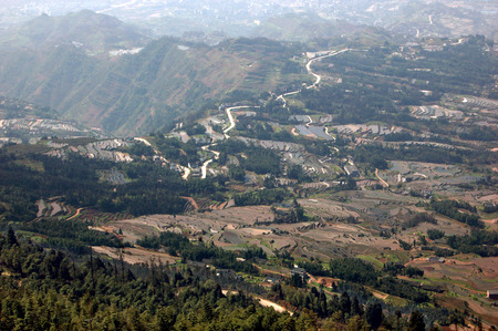 Sichuan pastoral scenery